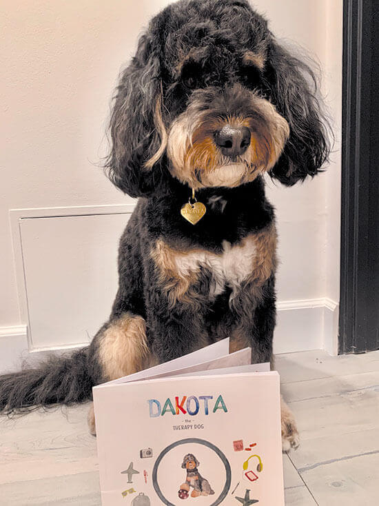 Dakota The Therapy Dog: Goes to the Airport By Lara Clear, Illustrated by Katie Watts