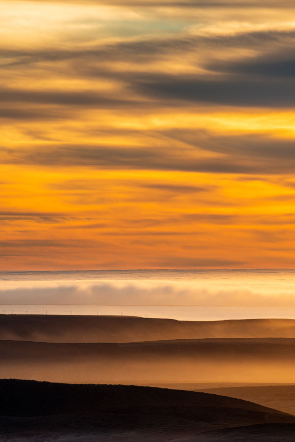 -The view from Mount Vision in Point Reyes near Inverness, California-