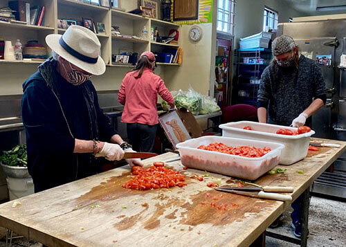 Skid Row's Hippie Kitchen Keeps On Feeding